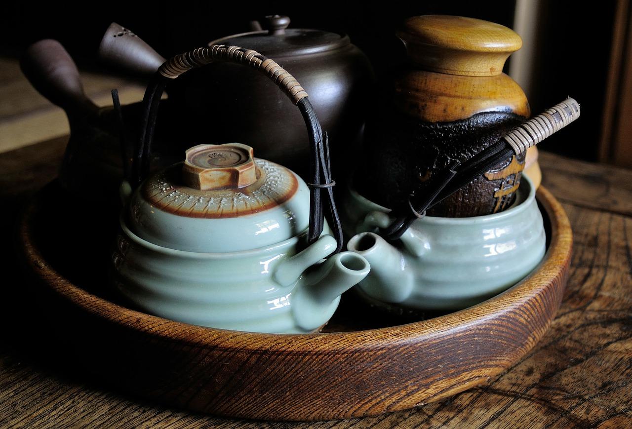 תה ירוק יפני מסורתי
